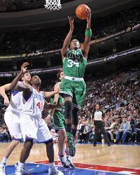 Boston Celtics v Philadelphia 76ers  Paul Pierce by David Dow 2e762083f