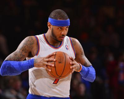 Jan 24, 2014, Charlotte Bobcats vs New York Knicks - Carmelo Anthony by David Dow