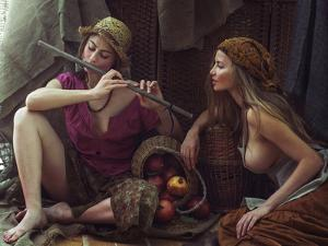Farmgirls by David Dubnitskiy