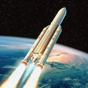Ariane 5 Rocket by David Ducros
