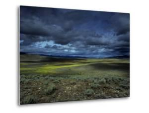 A Storm Building over the Plains of Southern Colorado by David Edwards