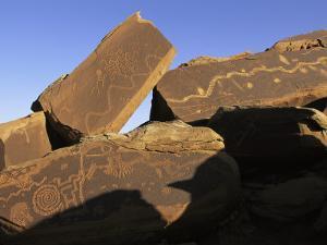 Petroglyphs Near Little Colorado River, Arizona by David Edwards