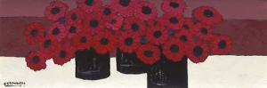 Pop Flowers II by David Edwards