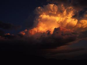 Storm Clouds over Northern Arizona by David Edwards