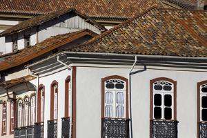 Elevated View of the Town of Ouro Preto by David Evans