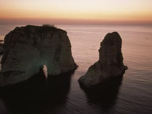 Rock Formation in the Mediterranean Sea by David Evans