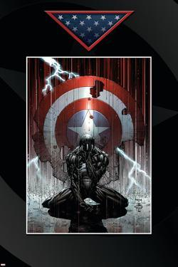 Fallen Son: The Death Of Captain America No.4 Cover: Spider-Man Charging by David Finch