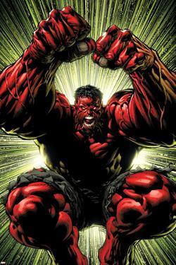 Hulk: Red Hulk Must Have Hulk No.3 Cover: Hulk by David Finch