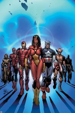 New Avengers No.7 Cover: Spider Woman by David Finch