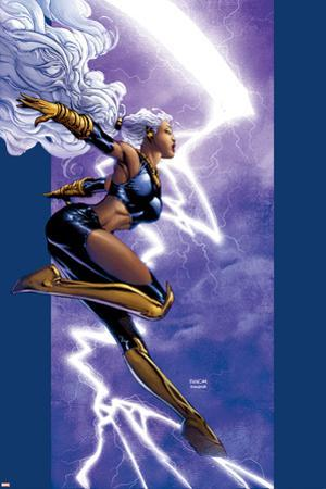 Ultimate X-Men No.42 Cover: Storm by David Finch