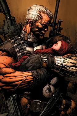 Uncanny X-Men No.493 Cover: Cable by David Finch