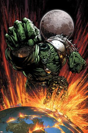 World War Hulk No.1 Cover: Hulk Flying by David Finch