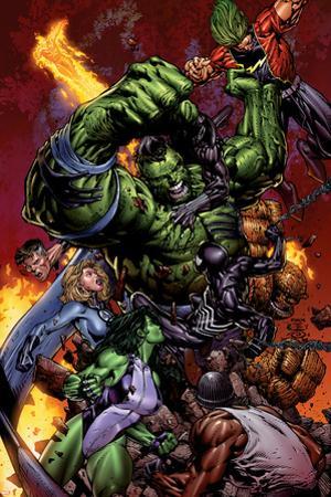 World War Hulk No.2 Cover: Hulk