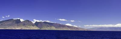 Panorama of the Entire Island of Maui Molokini by David Fleetham