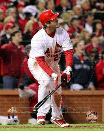 David Freese Game Winning Walk-Off Home Run Game 6 of the 2011 MLB World Series Action (#28)