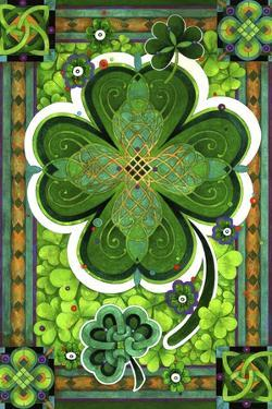 Shamrocks by David Galchutt