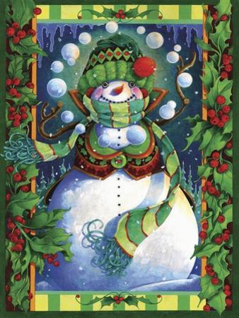 Snowman by David Galchutt