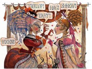 The Cat Fight by David Galchutt