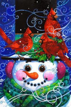 The Snowy Night by David Galchutt