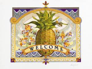 Welcome Pineapple by David Galchutt