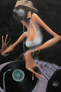 DJ Free by David Garibaldi