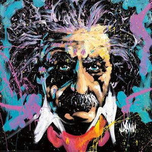 Einstein E=MC2 by David Garibaldi