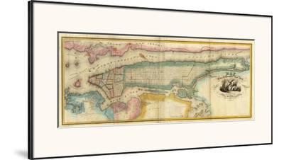 New York City & County, c.1832 by David H. Burr