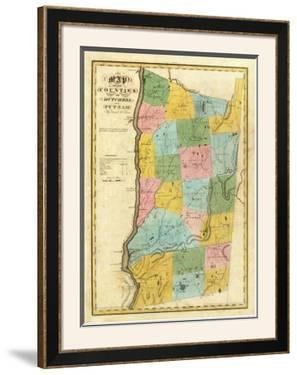 New York: Dutchess, Putnam Counties, c.1829 by David H. Burr