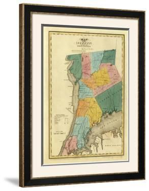 New York, Westchester County, c.1829 by David H. Burr