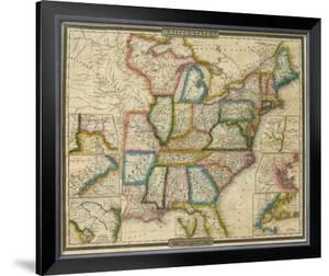 United States, c.1833 by David H. Burr