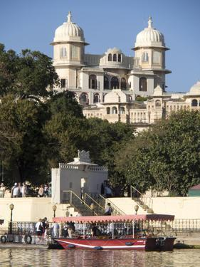 Exterior of an Historic Structure in Udaipur, Rajasthan, India by David H. Wells