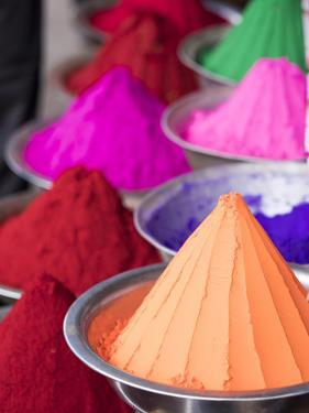 Holi Powder Paint for Sale in Mysore, Karnataka, India by David H. Wells