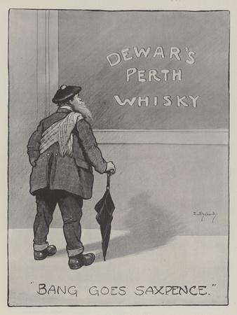 Advertisement, Dewar's Perth Whisky