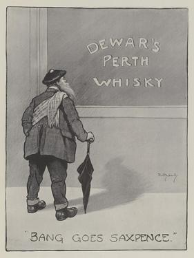 Advertisement, Dewar's Perth Whisky by David Hardy