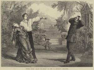 Scene from Alive or Dead, at the St George's Theatre by David Henry Friston