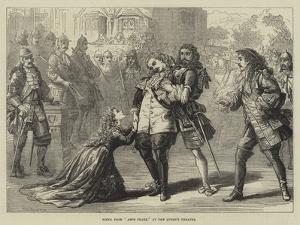Scene from Amos Clark, at the Queen's Theatre by David Henry Friston