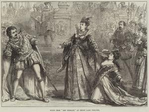 Scene from Amy Robsart, at Drury Lane Theatre by David Henry Friston