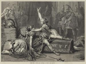 Scene from Antony and Cleopatra, at Drury Lane Theatre by David Henry Friston