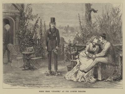 Scene from Bygones, at the Lyceum Theatre