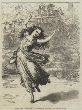 Scene from Fanchette, at the Lyceum Theatre, the Shadow Dance by David Henry Friston