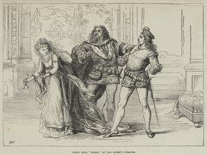 Scene from Hinko, at the Queen's Theatre by David Henry Friston