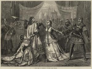 Scene from Il Talismano, at Drury Lane Theatre by David Henry Friston
