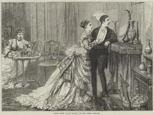 Scene from Lady Flora, at the Court Theatre by David Henry Friston