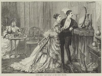 Scene from Lady Flora, at the Court Theatre