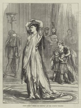 Scene from Medea in Corinth, at the Lyceum Theatre by David Henry Friston