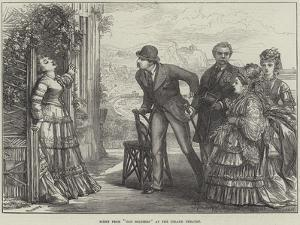 Scene from Old Soldiers at the Strand Theatre by David Henry Friston