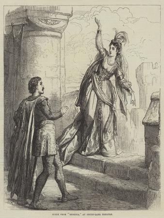 Scene from Rebecca, at Drury-Lane Theatre