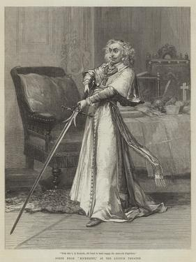 Scene from Richelieu, at the Lyceum Theatre by David Henry Friston