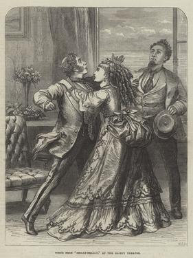 Scene from Shilly-Shally, at the Gaiety Theatre by David Henry Friston