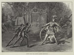 Scene from the Covent Garden Pantomime by David Henry Friston